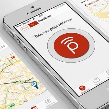iPhone application SnapCar